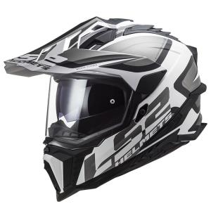 Casco LS2 Explorer Alter negro-blanco