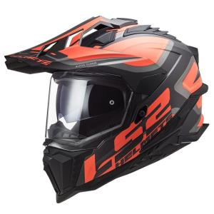 Casco LS2 Explorer Alter naranja
