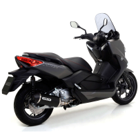 Escape Arrow aluminio negro Yamaha XMAX 250 2009-16