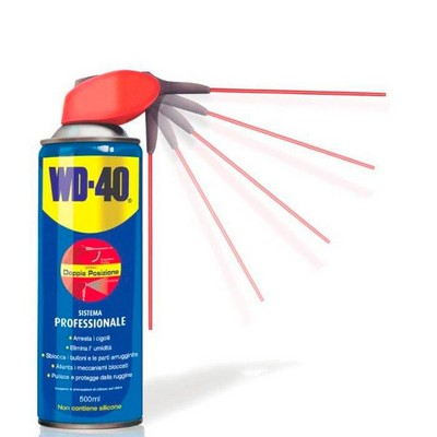 Spray multiusus WD40 500ml con inyector