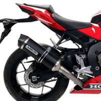 Escape aluminio negro Honda CBR1000RR 17- Arrow