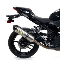 Escape Arrow titanio Kawasaki Ninja 400 18-