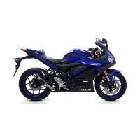 Escape Arrow thunder negro Yamaha yzf r3 19-