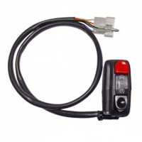 Conmutador interruptor run-stop domino para moto de 22 mm