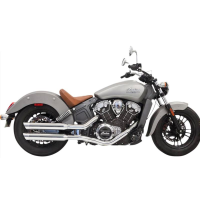 Escape Bassani Cromado para Indian Scout 2015-