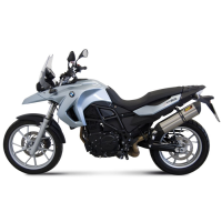 escape mivv sport slip-on suono bmw f800gs 2008-