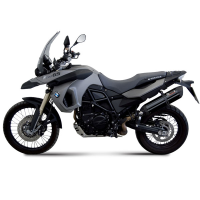 escape mivv sport slip-on suono negro bmw f800gs 2008-