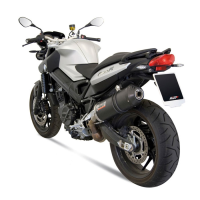 escape mivv carbono sport slip-on oval bmw f800r-gt 2009-