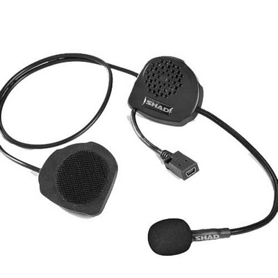Kit manos libres intercomunicador stereo Shad para casco