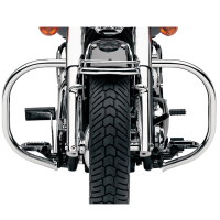 Defensa de motor cromada 32mm para Honda VT1100 Shadow