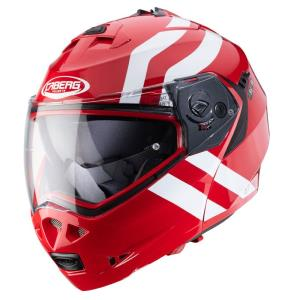 Casco Caberg Duke 2 Superlegend rojo-blanco