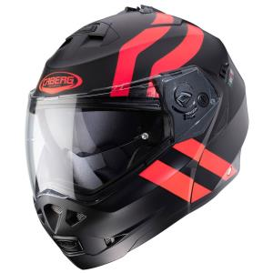 Casco Caberg Duke 2 Superlegend negro-rojo
