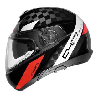 Casco Schuberth C4 carbono Avio rojo