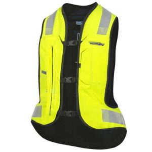 Chaleco electronico Airbag E-Turtle Hivis Helite