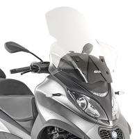 Parabrisas transparente Piaggio MP3 350-500 Business 18- givi