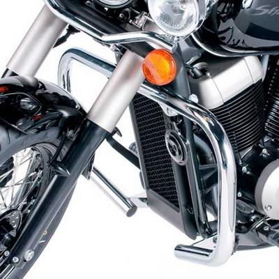 Defensa custom de acero inox para HONDA SHADOW 750