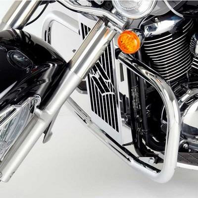 Defensa custom de acero inox para SUZUKI INTRUDER 800