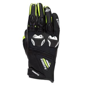 Guantes moto racing hombre FACER negro Rainers