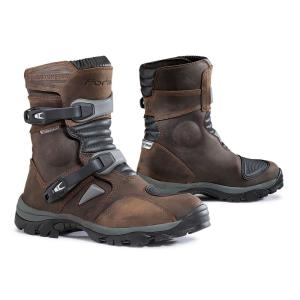 Botas de moto Forma Adventure Low marron