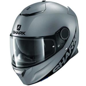 Casco Shark Spartan Blank antracita
