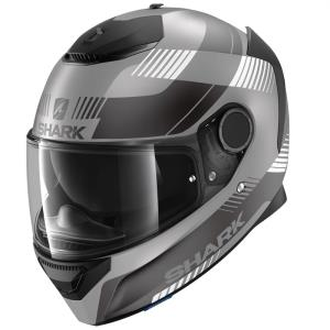 Casco Shark Spartan Strad antracita