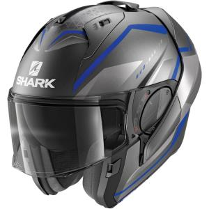 Casco Shark Evo-Es Yari antracita-azul