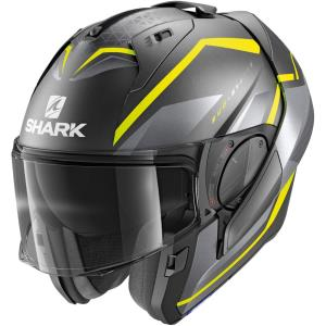 Casco Shark Evo-es Yari antracita-amarillo