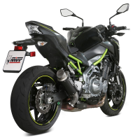 escape mivv gp pro carbono kawasaki z900 17-