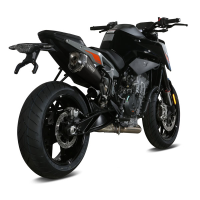 Escape mivv KTM Duke 790 18- delta negro