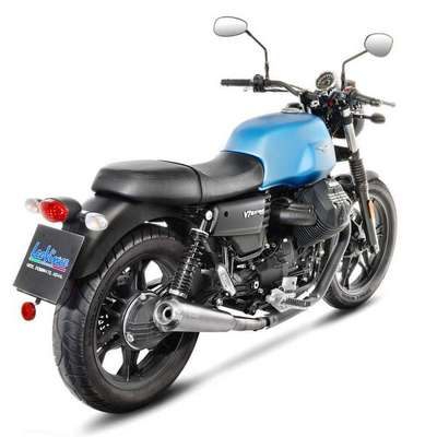 Escape leovince racing moto guzzi v7iii 17-19