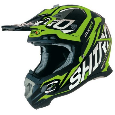 Casco Shiro motocross modelo Thunder