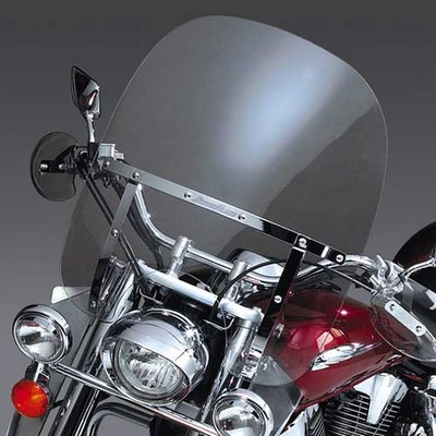 Parabrisas National Cycle transparente para Honda Shadow