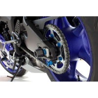 Protector eje trasero Yamaha R6 17- Evotech