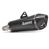 Escape Akrapovic titanio negro BMW F700GS/F800GS/Adventure 13- homologado