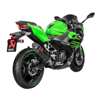 Escape Racing carbono Kawasaki Ninja 400 18- Akrapovic