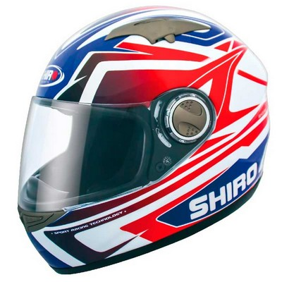 Casco Integral Shiro Racing Fibra de Vidrio
