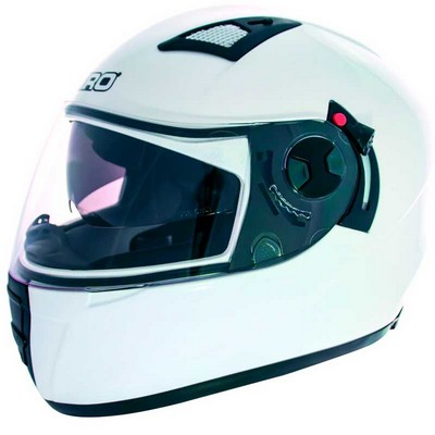 Casco Integral Shiro Racing Monocolor en Resina