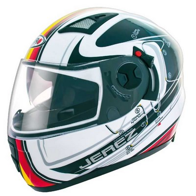 Casco Integral Shiro Racing en Resina modelo GP