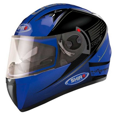 Casco Integral Shiro Racing en Resina R15