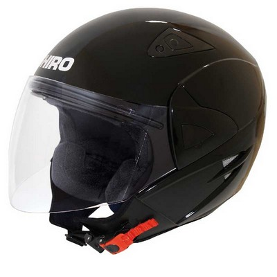 Casco Jet  moto Shiro de resina ABS Modelo Manhathan colores
