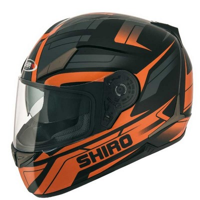 Casco Integral Shiro Racing Modelo Austin en Resina ABS