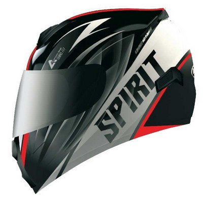 Casco Shiro Integral Racing en resina ABS Spirit