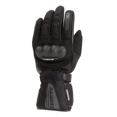 Guantes moto invierno Rainers modelo Shadow impermeables
