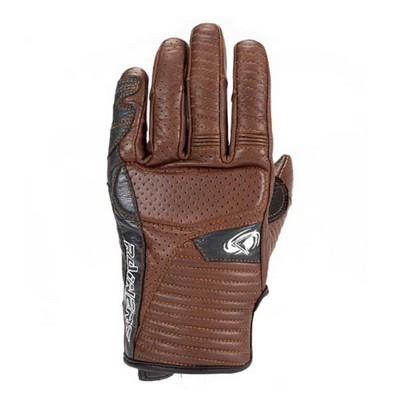 Guantes moto de verano Rainers modelo SPACE Color Marrón