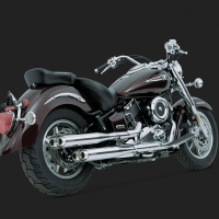 Escapes Yamaha Drag Star-Classic Vance-Hines