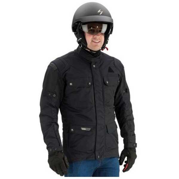 Hombres de la chaqueta de invierno con capucha, con forro