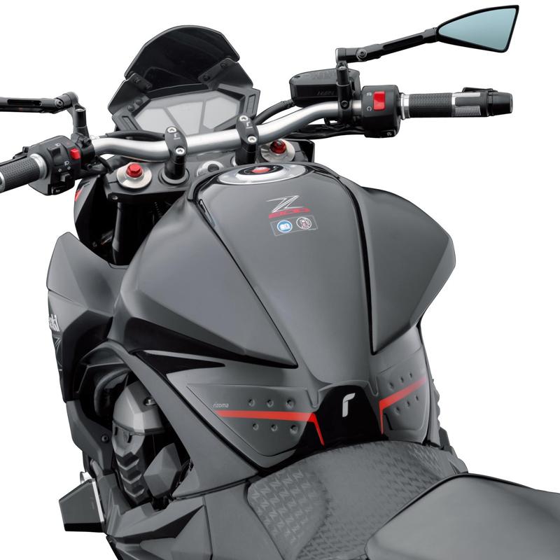 Protector Tipo Stomgrip Rizoma Moto Kawasaki Z800 Ano 2013